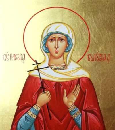 Икона Святой мученицы Виктории Кулузской