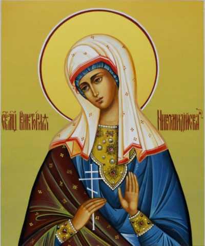Икона Святой мученицы Виктории Никомедийской