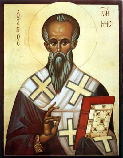 Икона епископа Климента Охридского