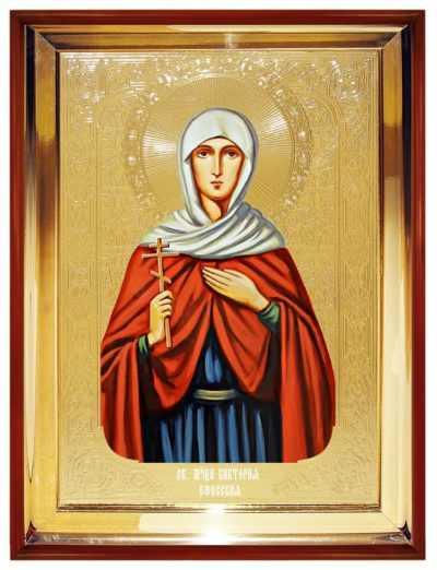 Икона Святаой мученицы Виктории Эфесской