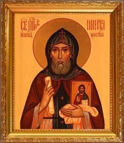 Икона Никиты Константинопольского