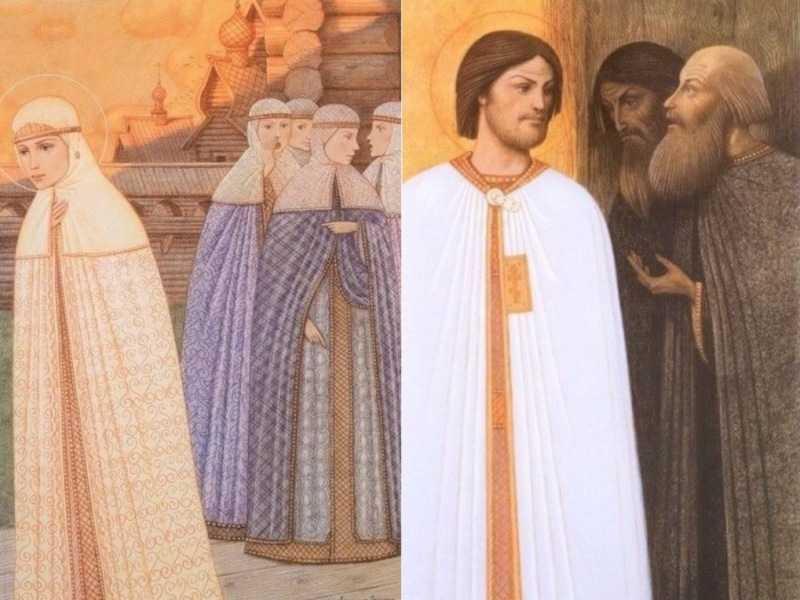История жизни святых князей