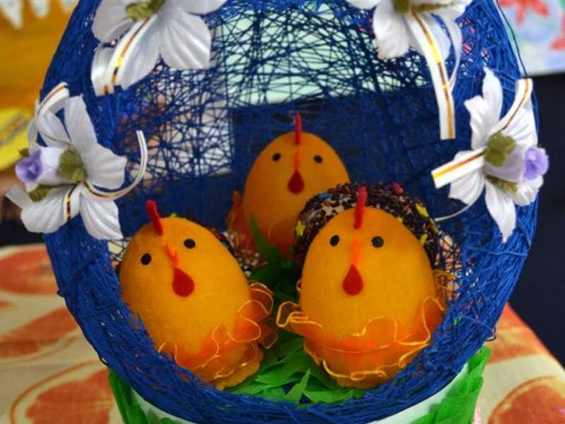 Изготовление яичек
