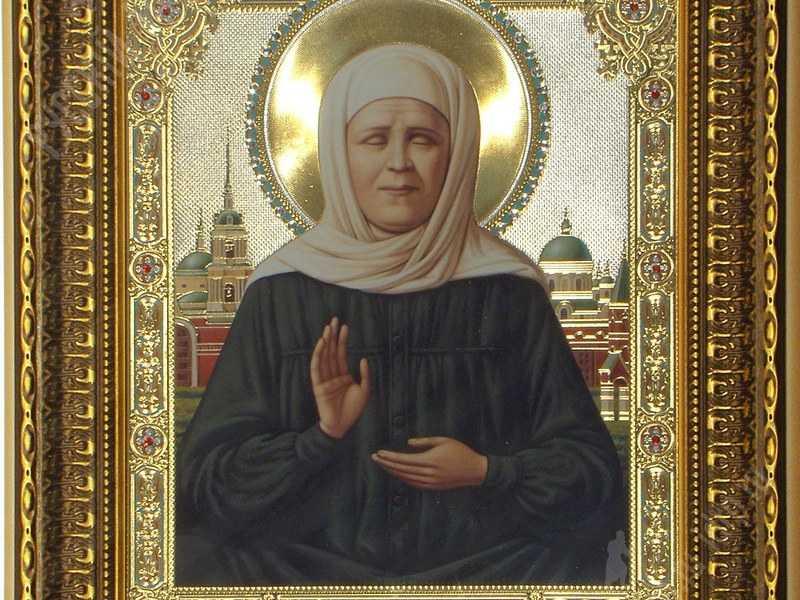 Матушка Матронушка помогает при искренней молитве