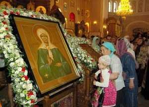 Просьбы о помощи Святой Матроны Московской