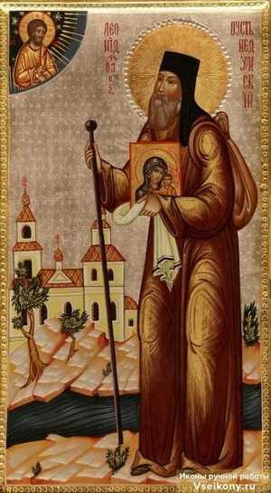 Святой Леонид - ученый и проповедник