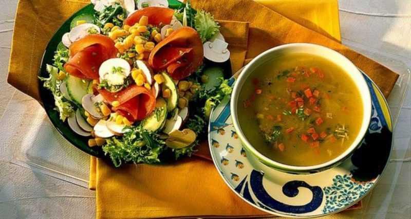 Виды блюд в православный пост