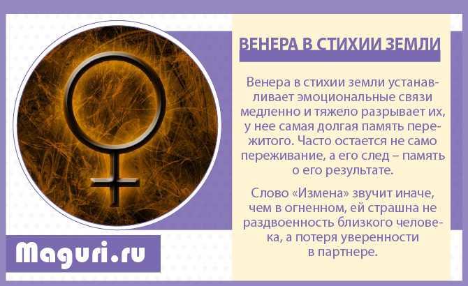 Венера в земле