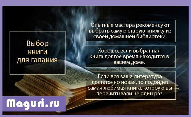 Выбор книги