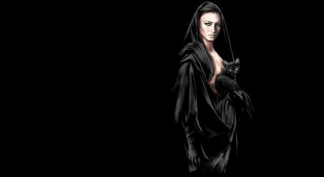 Как стать сильной черной ведьмой