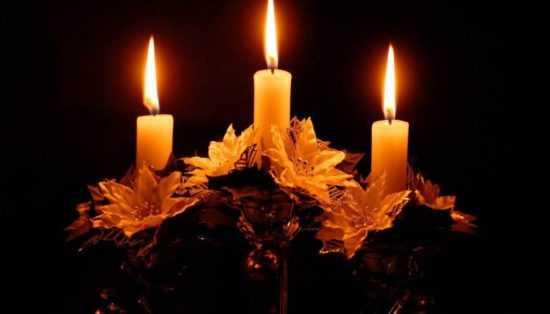 Три свечки