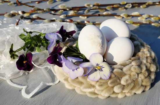 Обряды с куриными яйцами