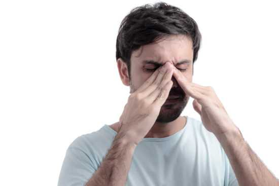 Зуд переносицы