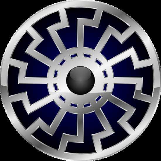 Символ Черного Солнца древние знания в наши дни