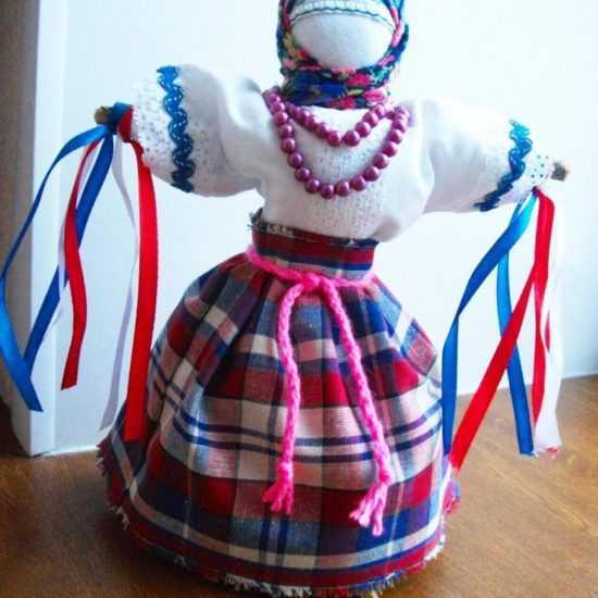 Кукла Масленица из пластиковой бутылки
