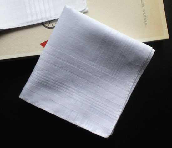 Белый носовой платок