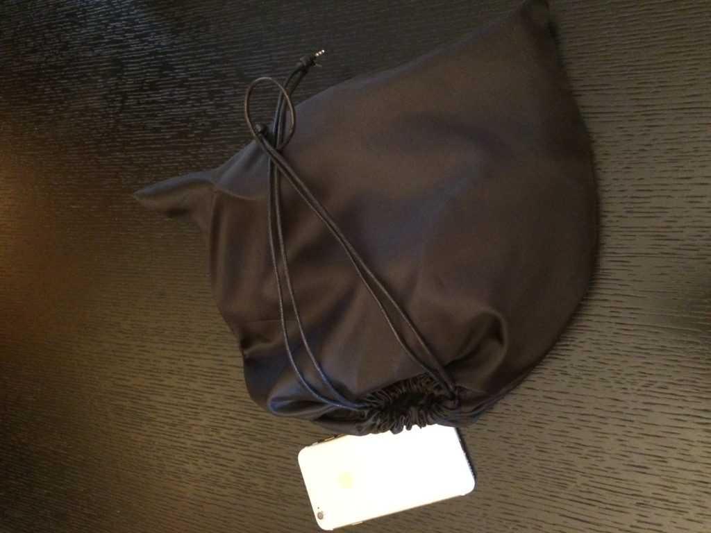 Шелковый мешочек
