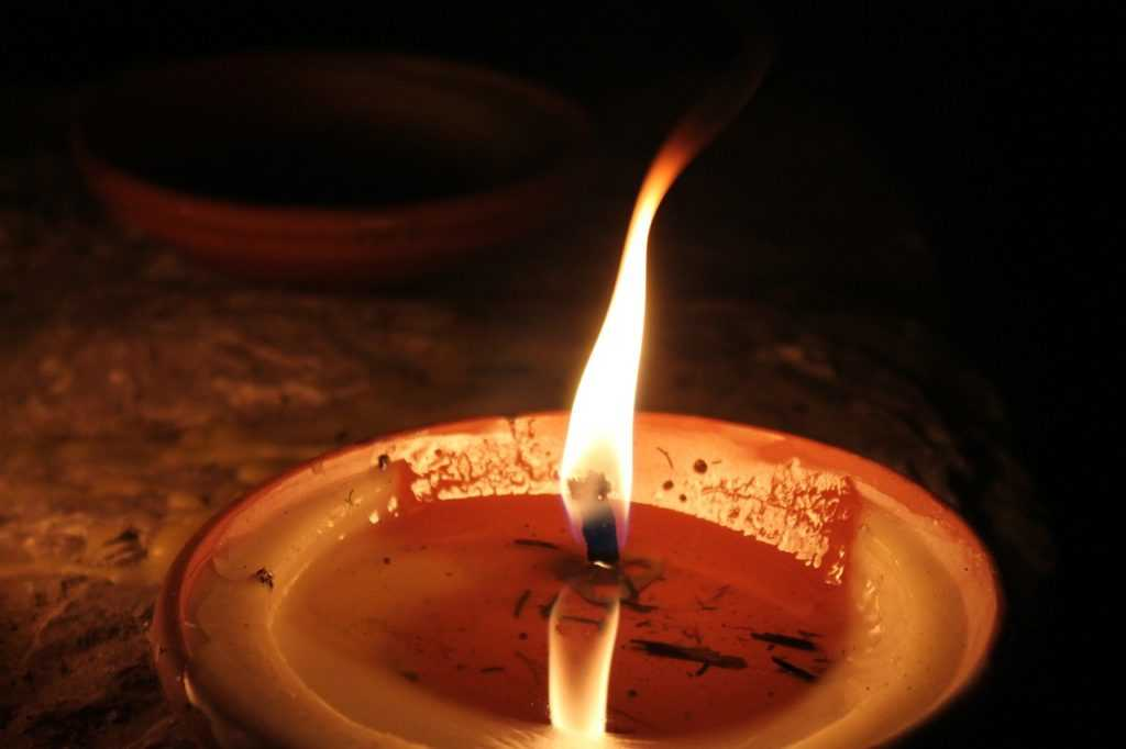 Воск свечи
