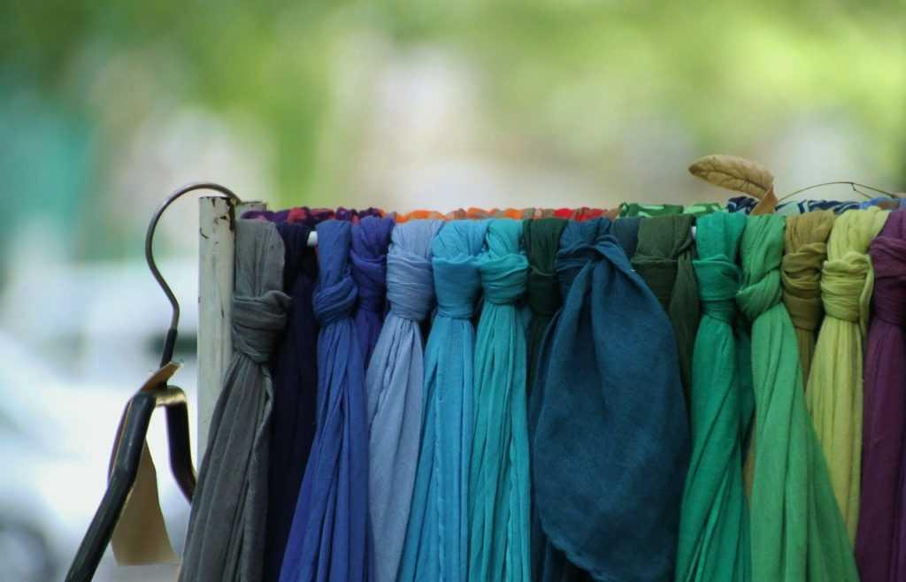 Разные шарфы