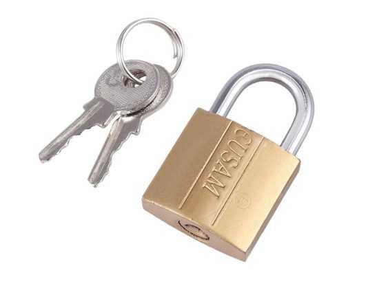 Новый ключ и замок