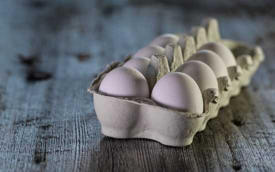 На куриное яйцо