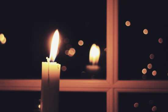 Свеча в полночь