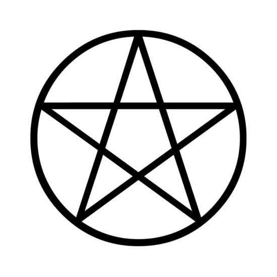 Звезда внутри круга