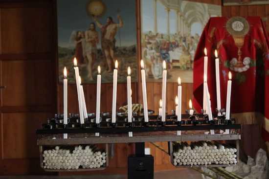 Церковнык свечи