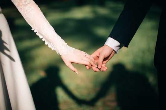 На женатого