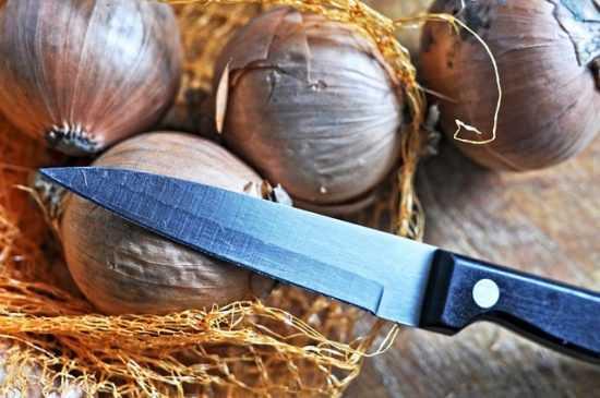 Обряд с ножом