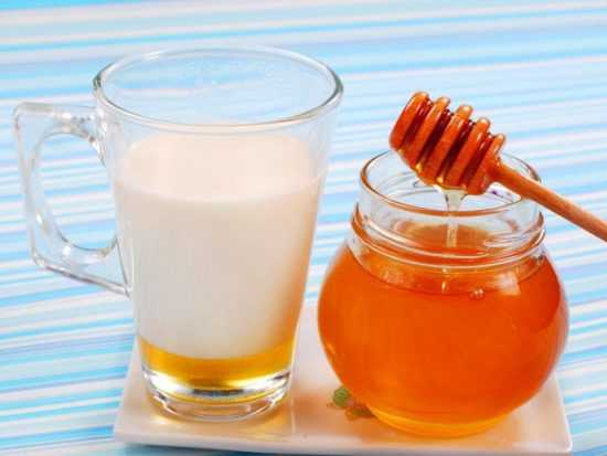 Мед и молоко