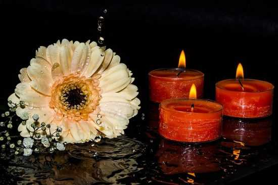 Обрядсо свечами