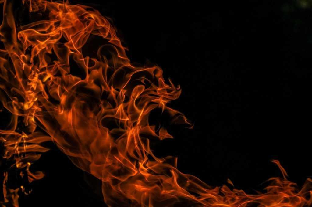 Камень на огне