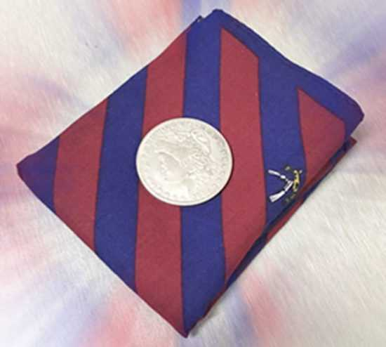 Носовой платок и монетка