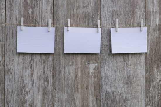 Листки бумаги