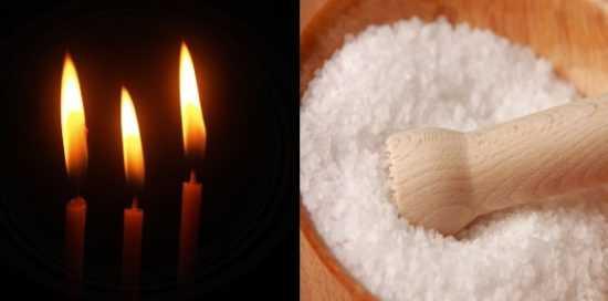 Обряд с солью