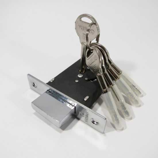 Дверной замок с ключами