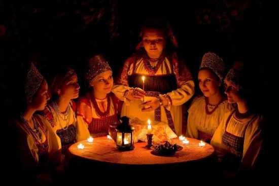 Рождественские ритуалы на замужество