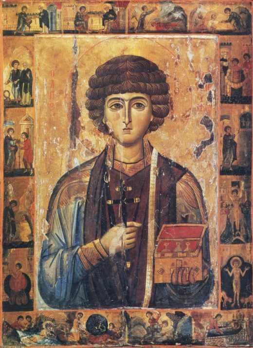 Молитвы от болезней Святому Пантелеймону