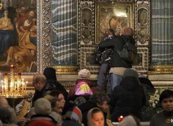 Санкт-Петербург икона Казанская