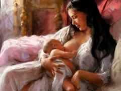 Молитва на молоко кормящей матери