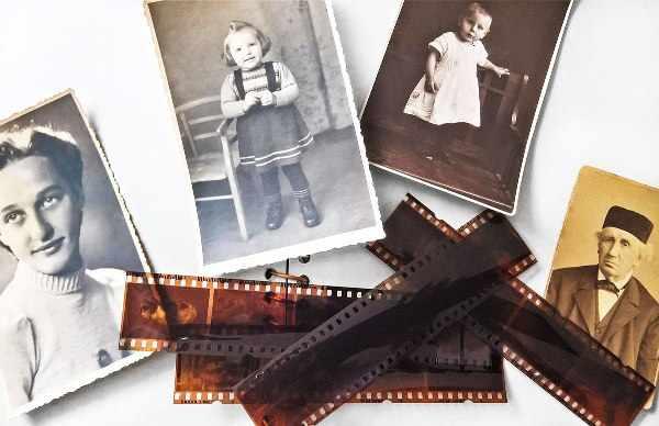 старые ненужные фото