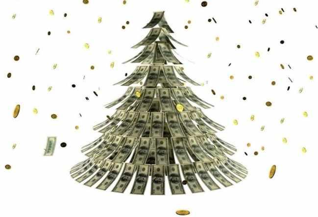 магия нового года на деньги