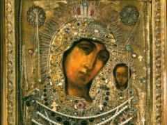 Казанская икона Божией матери (осенняя)