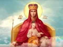 Молитва Богородице перед иконой