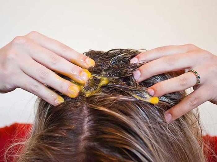 Заговор на рост волос на яйцо