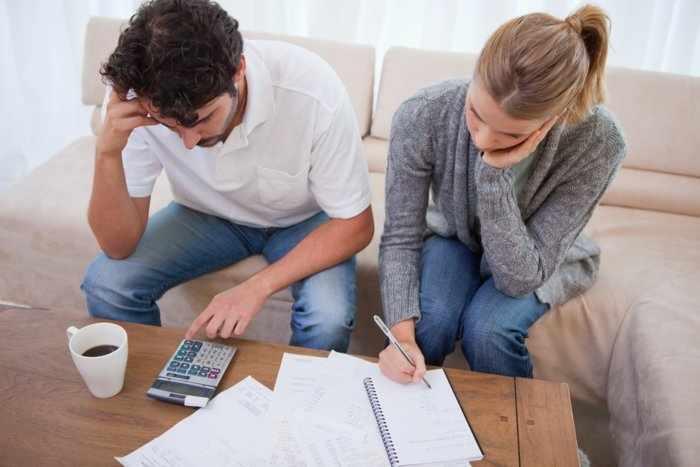 У семейной пары финансовые проблемы