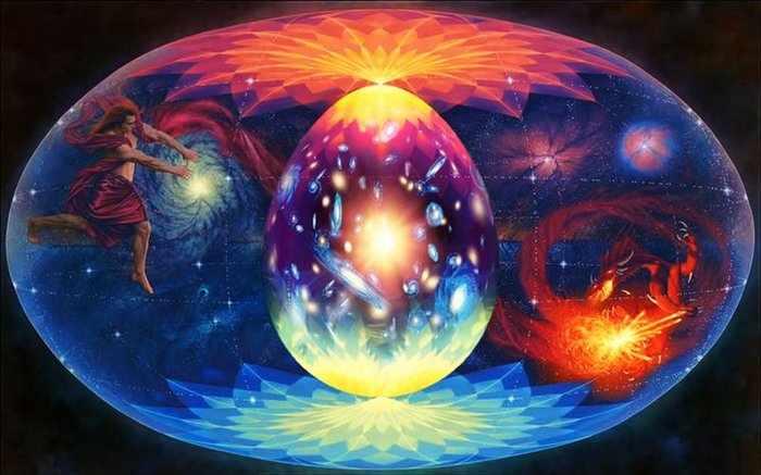 Яйцо как модель вселенной