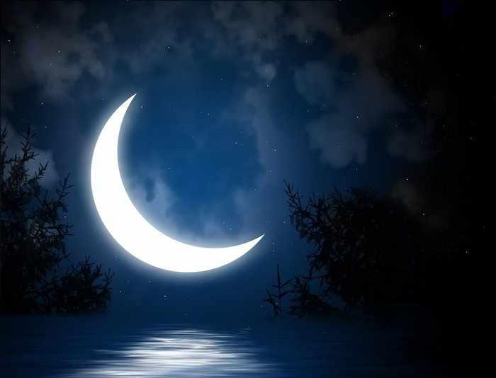 Фаза растущей луны